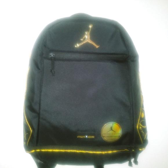 c5f43f15b7c Nike Bags   Jordan Asahd X Jumpman Black Backpack Limited   Poshmark